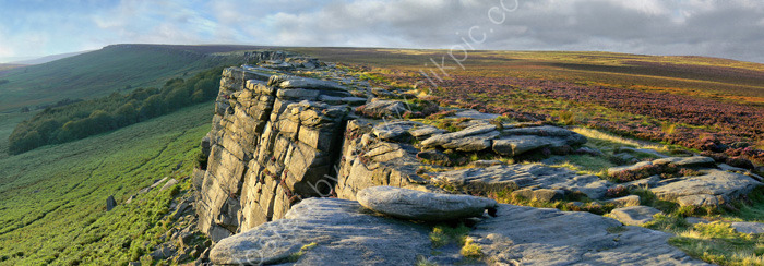 peak district photo:Stanage edge
