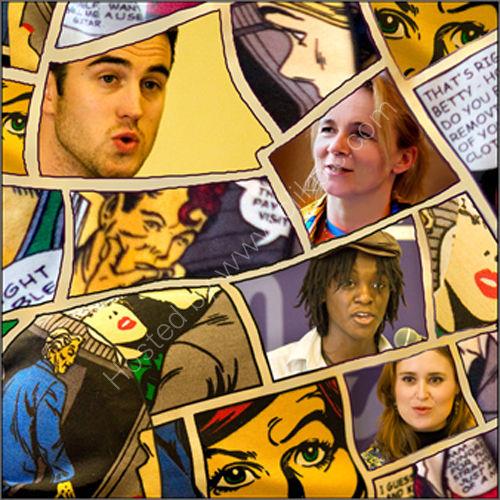 Claudia Daventry, Adam O'Riordan, Jay Bernard &amp; Abi Curtis<br> Comic Cuts