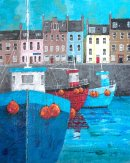 Arbroath Harbour Impression
