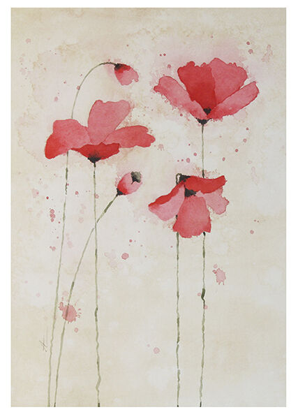 RED POPPIES 5
