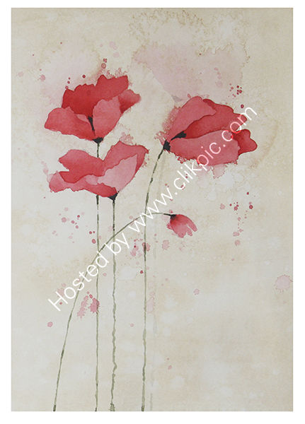 RED POPPIES 6