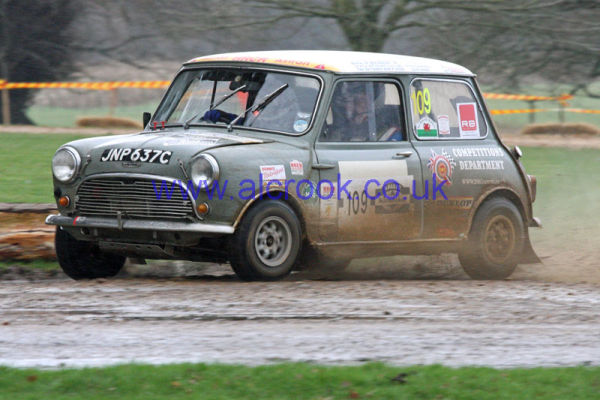 109 Clive King  Dudley  'Polly'  Stourbridge  Austin Cooper S  MC2