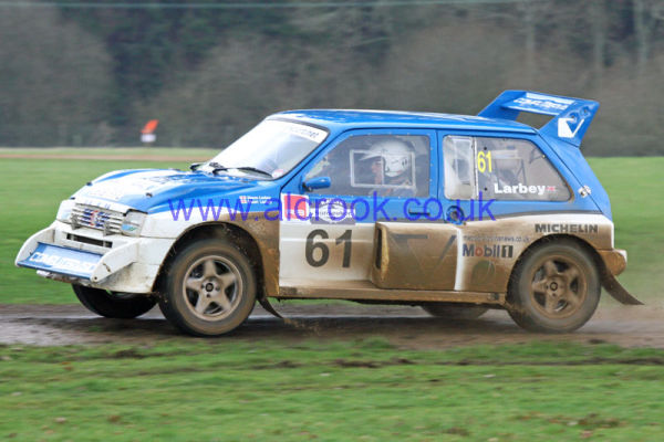 61 Stuart Larbey  Chichester  Simon Larbey  Chichester  MG Metro 6R4  4A