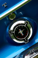 Ford Mustang Emblem Detail
