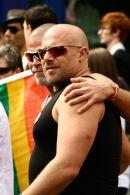Gay Couple, Leeds Pride 2009