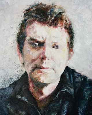 Oil Portrait of Dr. A. Jamieson by Alexandra Gould