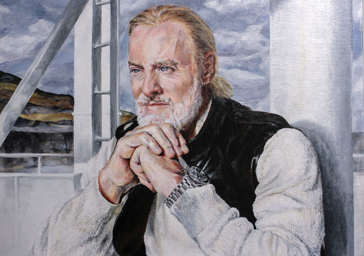 'Victor' Commissioned portrait by A. Gould