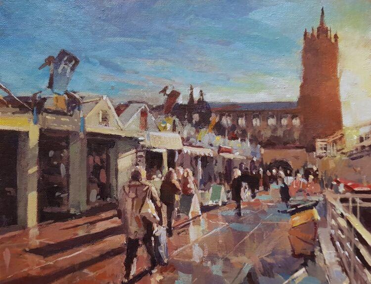 St Peter Mancroft & the Market