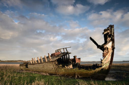 Fleetwood Marsh Wrecks