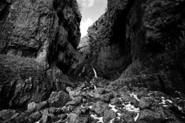 Gordale Scar Black and White