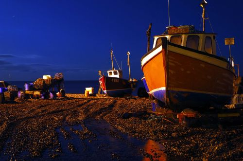 Boats On Beer Beach