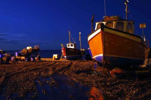 Boats On Beer Beach