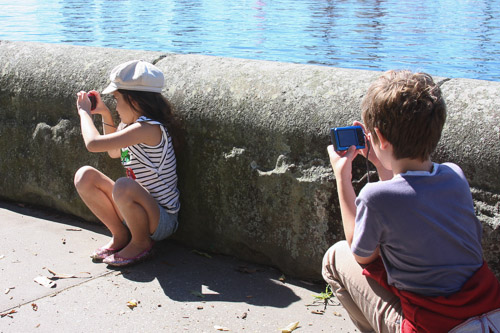Compact cameras are ideal for kids