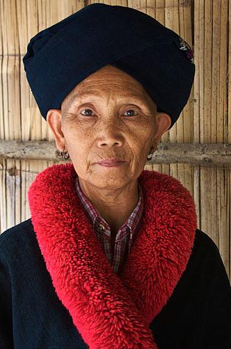 Hill-tribe lady Chiang Rai