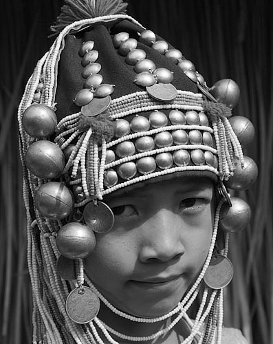 Young Akha girl Thailand