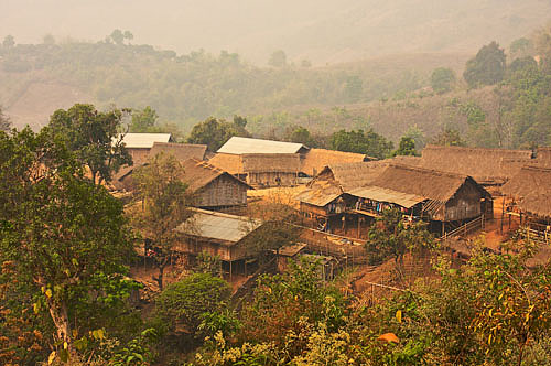 Black Lahu village Chiang Rai