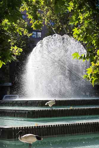 Kings Cross Fountain