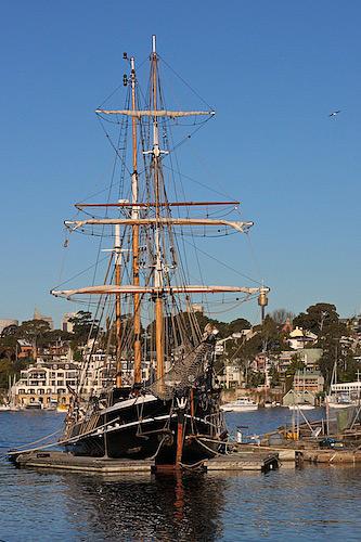 Old Sydney naval shipyard