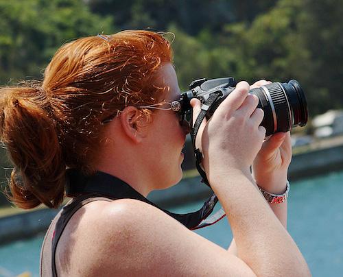 Beginner class using DSLR camera