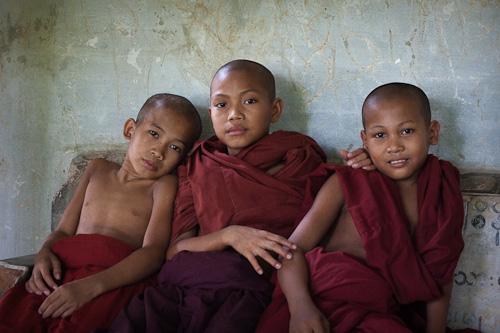 Young monks Mandalay