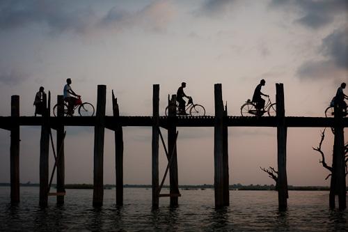 U Bein's Bridge Amarapura Burma