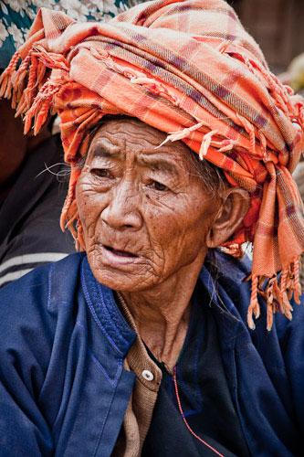 A portrait of market lady