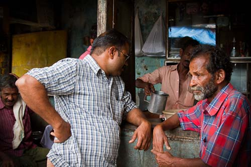 Chat over a cup of chai India