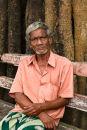 Coronation park bench Cochin India