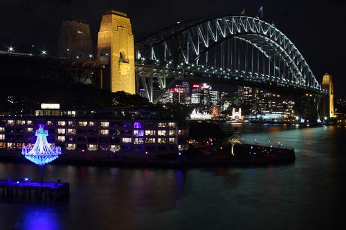 Sunset Harbour Bridge Sydney