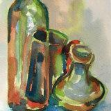 bottles green