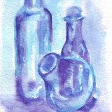 bottles purple