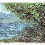 peaceful shoreline