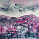 rose tinted rain