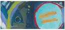 Grace - oil on canvas 45.5 x 110cm