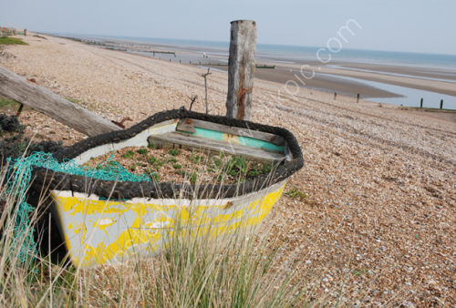 Beached Boat at Camber