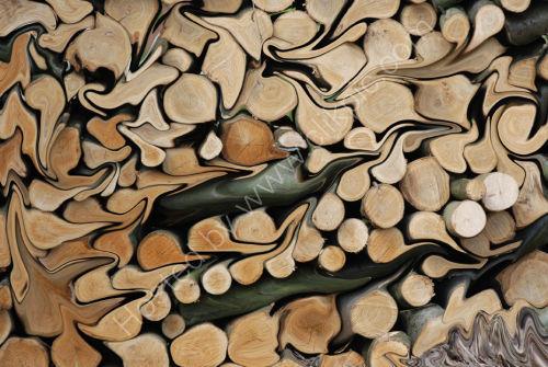 Liquified wood