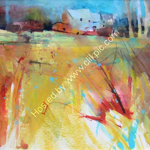 Mellow Yellow Fields SOLD