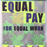 Banner: equal pay