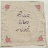Table napkin: eat the rich