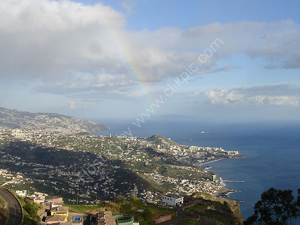 Rainbow over Funchal