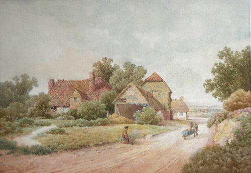 ALBERT EDWARD BOWERS (Exhibited 1875 - 1893)