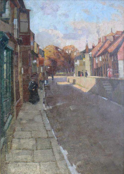 EDOUARD LESLIE BADHAM  (1873 - 1944)