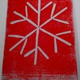 Snowflake, white card 240 gsm