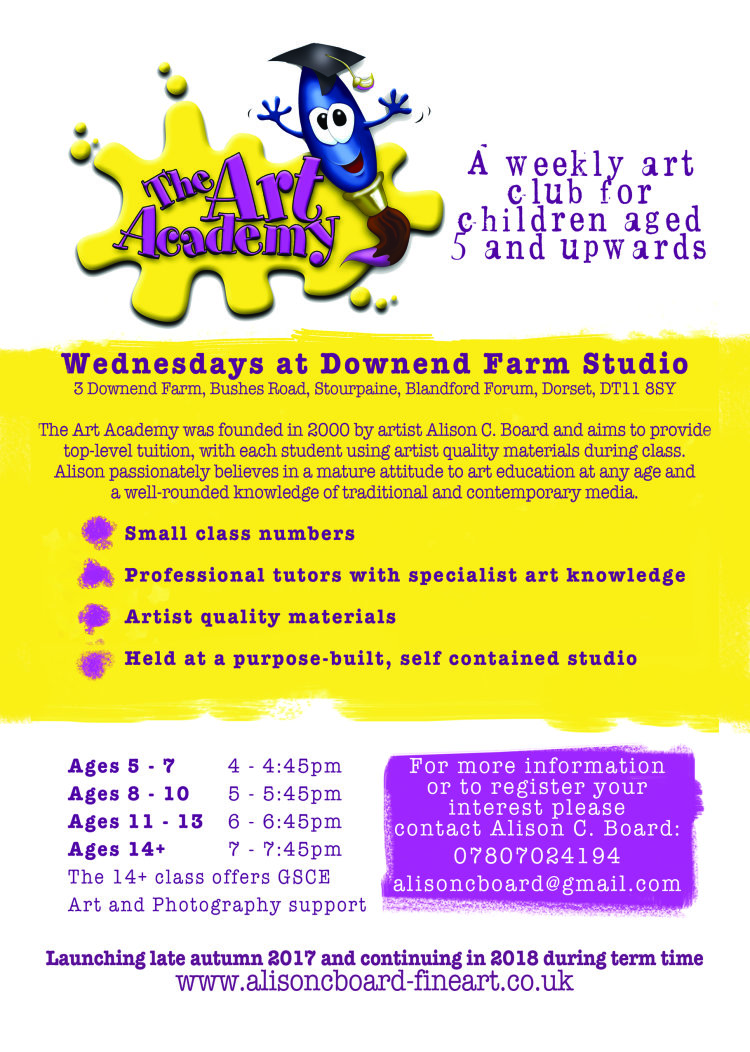 art academy flyer