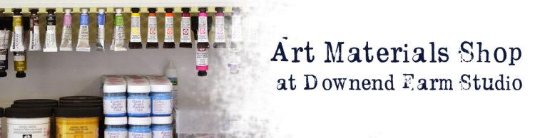art materials banner