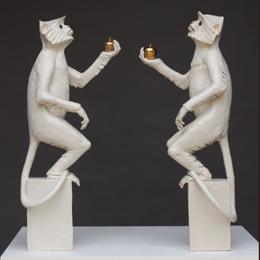 Langur offering