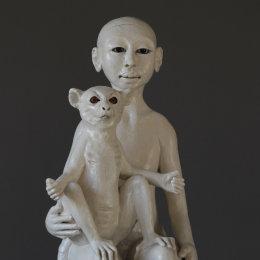 Lemur and Child