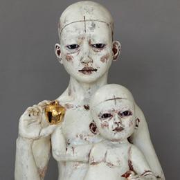 Madonna and girl child