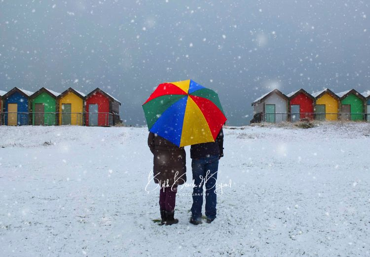 The Couple in the Snow