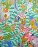 BANISH SADNESS Acrylic on panel 30x24 inches